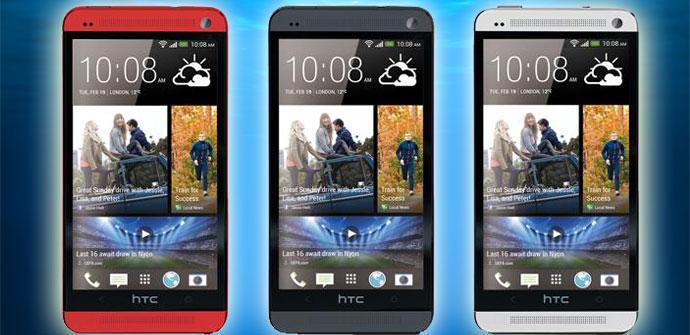 Nuevo HTC One en rojo