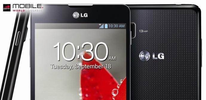 Lanzamiento comercial del LG Optimus G