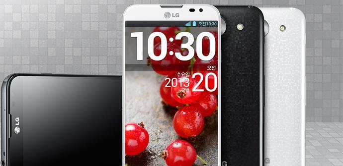 Teléfono LG Optimus G Pro