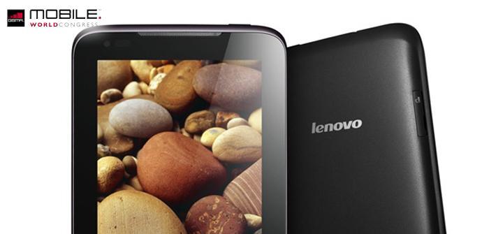 Lenovo presenta en el MWC tres nuevas tabletas