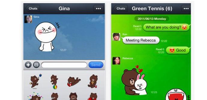 Line se actualiza para iOS y Android