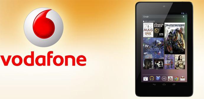 Tablet Nexus 7 y Vodafone