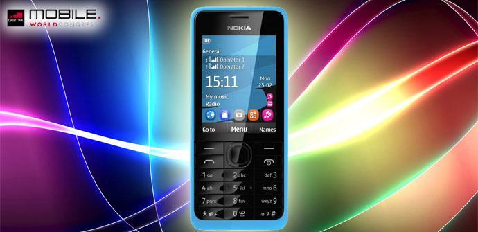 Nuevo Nokia 301