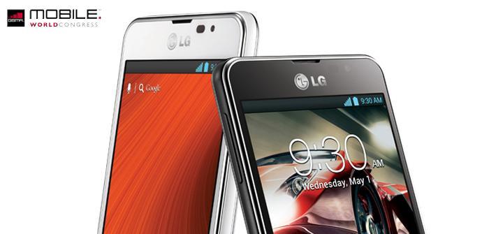 La gama Optimus F de LG en el MWC