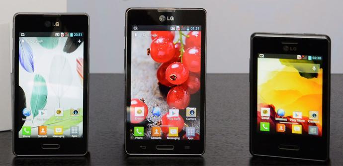 Los LG Optimus L II se presentarán en el MWC