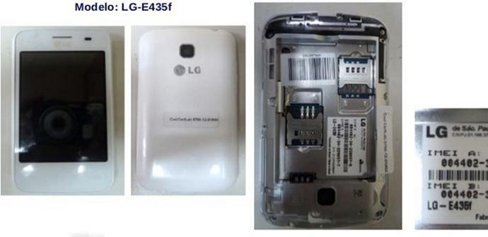 Imagen filtrada del LG Optimus L3 II