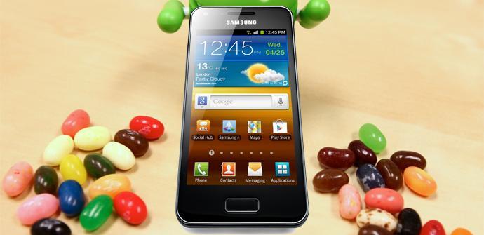 Versión Android 4.1.2 Jelly Bean