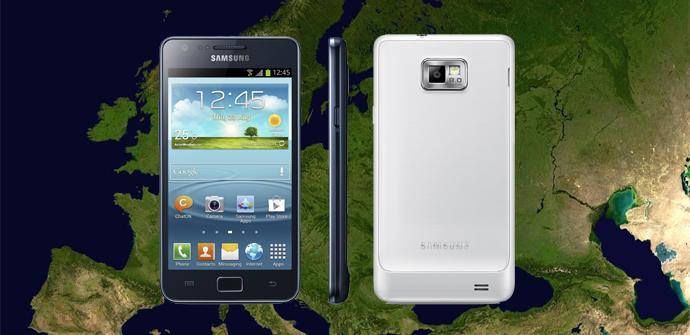 Teléfono Samsung Galaxy S2 Plus