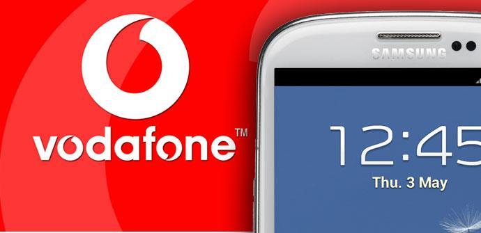 Galaxy S3 con Vodafone