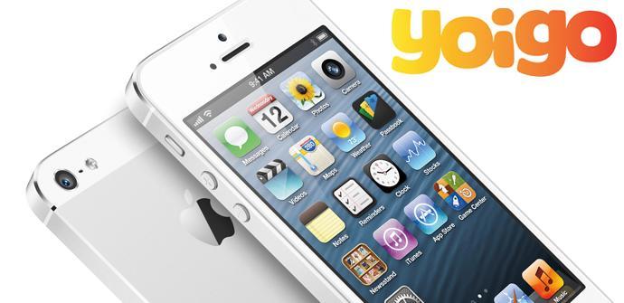 Ventas del iPhone 5 con Yoigo