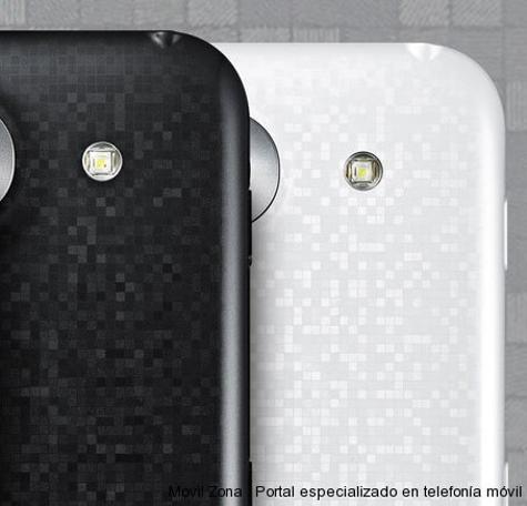 LG Optimus G Pro vista trasera
