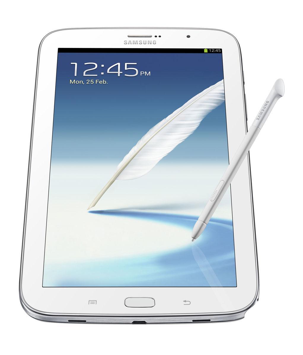 Samsung Galaxy Note 8 blanco con lapiz