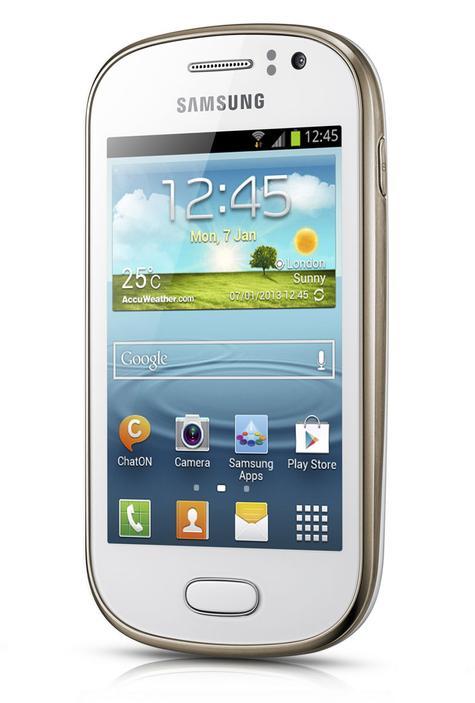 Samsung Galaxy Fame vista lateral