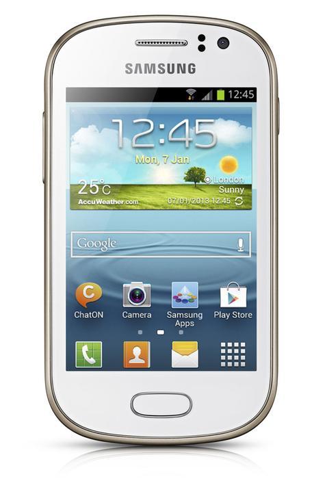 Samsung Galaxy Fame vista delantera