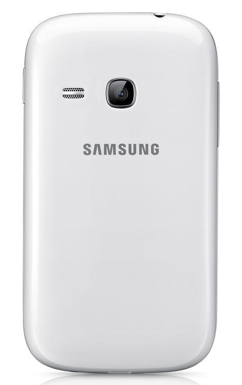 Samsung Galaxy Young vista trasera