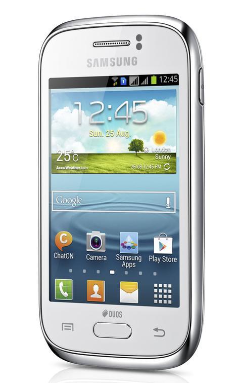 Samsung Galaxy Young vista letarl