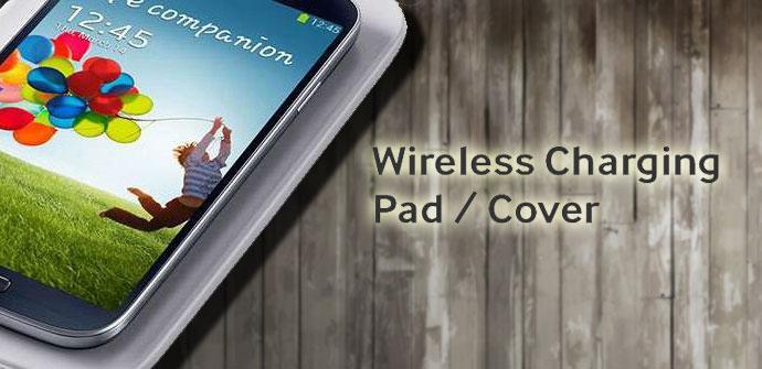 Cargador inalámbrico para el Galaxy S4