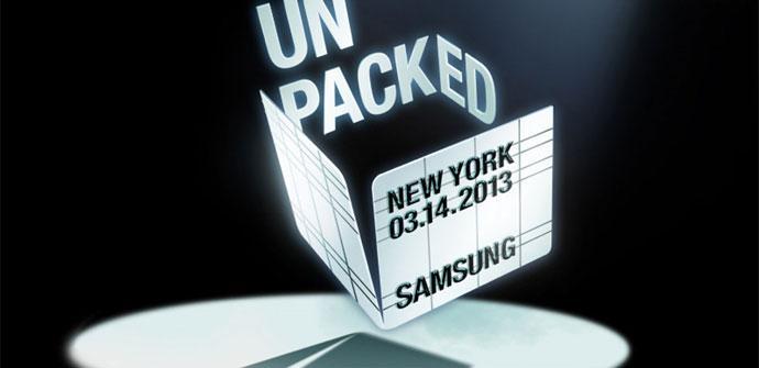 Evento presentación Samsung Galaxy S4