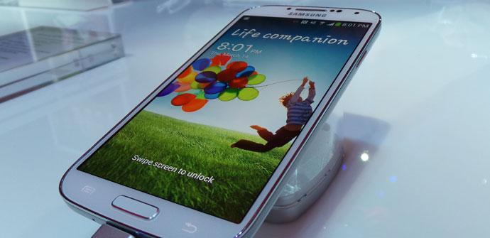 Toma de contacto Samsung Galaxy S4