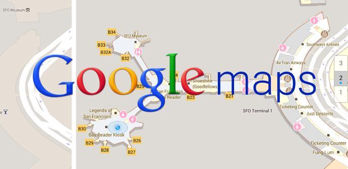Google Maps navegación en interiores