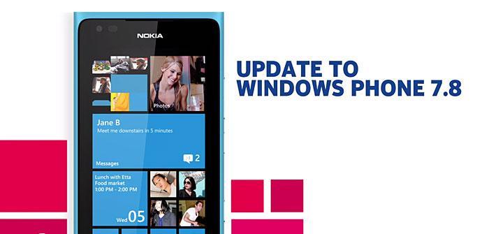 Nokia Lumia Windows 7.8