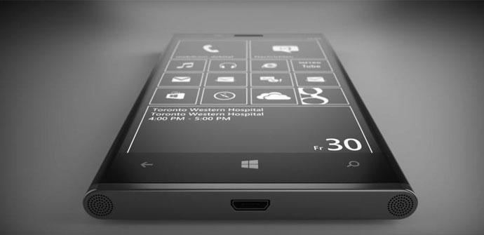 Nokia Lumia de aluminio