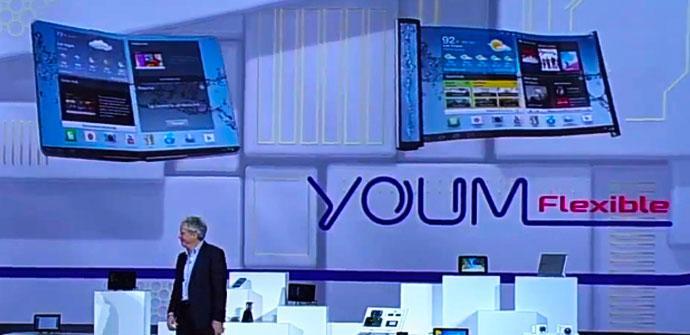 Posible pantalla flexible del Samsung Galaxy Note 3