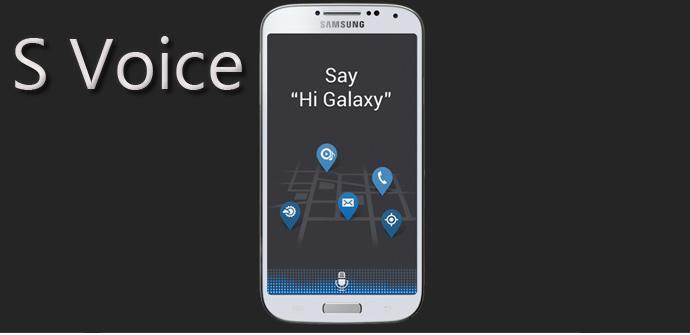 S Voice de Samsung Galaxy S4