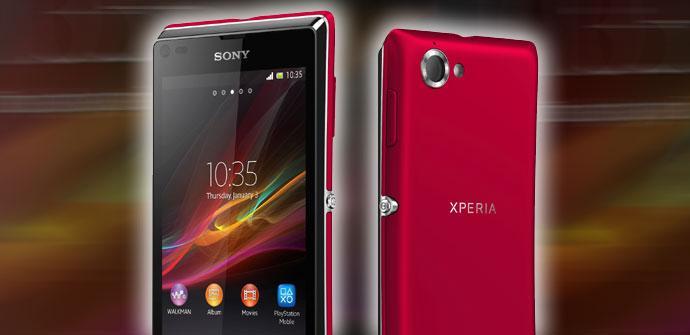 Nuevo Sony Xperia L