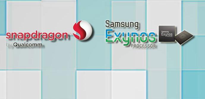 Procesadores Snapdragon y Exynos