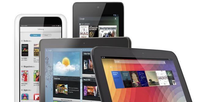 Opciones de tablets sobre los 100 euros