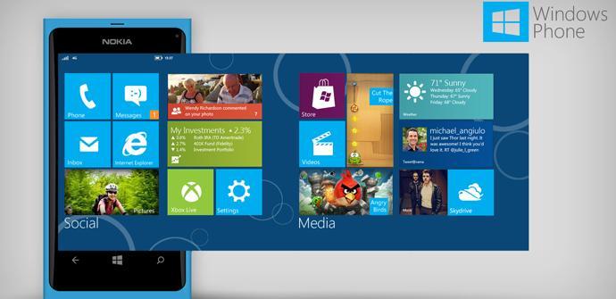 Windows Phone Blue para final de año