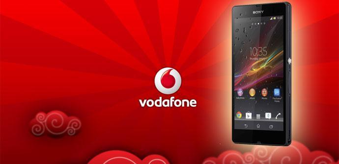 Sony Xperia Z con Vodafone