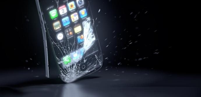iphone caida