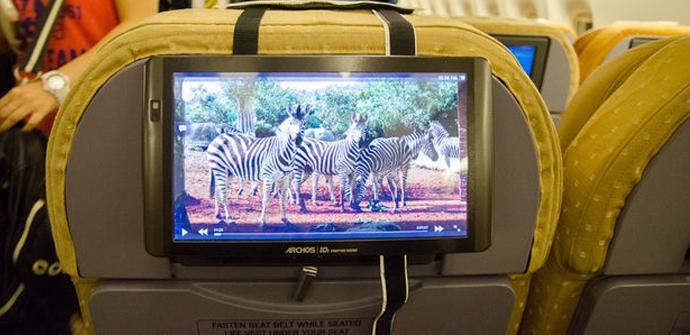 hackeando ipad avion