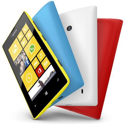 Nokia Lumia 520 en varios colores
