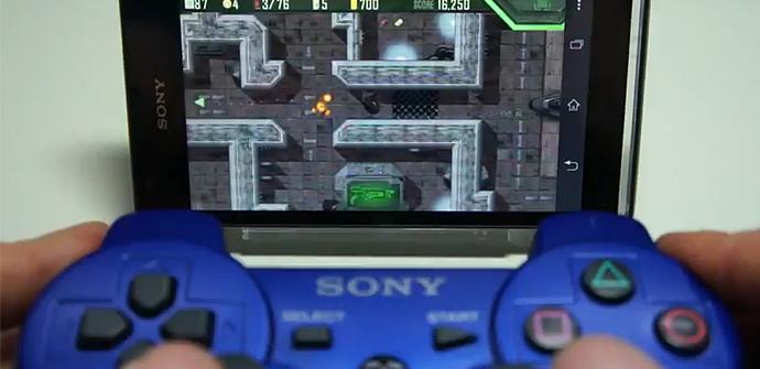 DualShock 3 con el Xperia SP