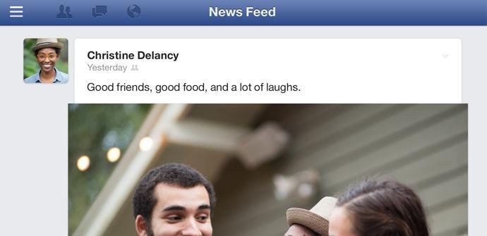 Actualización de Facebook para iPhone e iPad