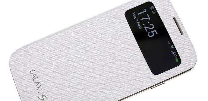 Accesorio S View Cover para Samsung Galaxy S4