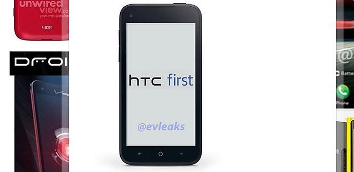 EVleaks filtra la primera imagen del HTC Facebook Phone