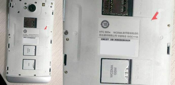 Carcasa de plástico del HTC One
