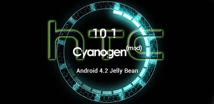 Logo de HTC y CyanogenMod