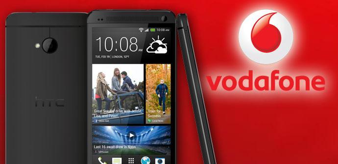 Teléfono HTC One y Vodafone