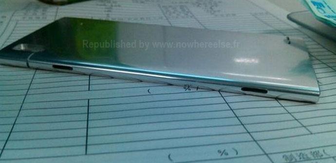 Huwei con carcasa de aluminio