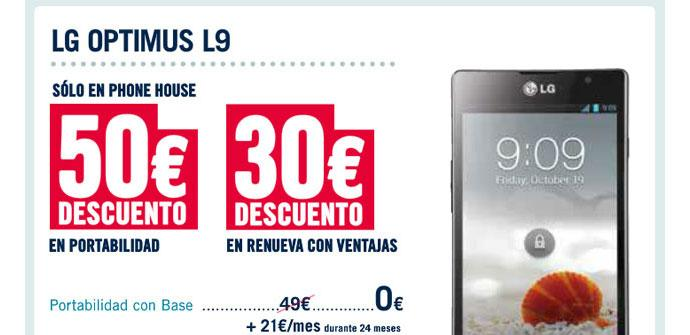 LG Optimus L9 oferta The Phone House