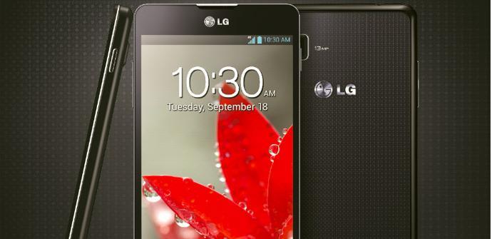 Presentación del LG Optimus G