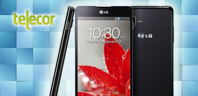 LG Optimus G con Telecor