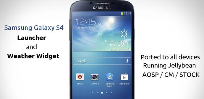 Samsung Galaxy S4 con TouchWiz