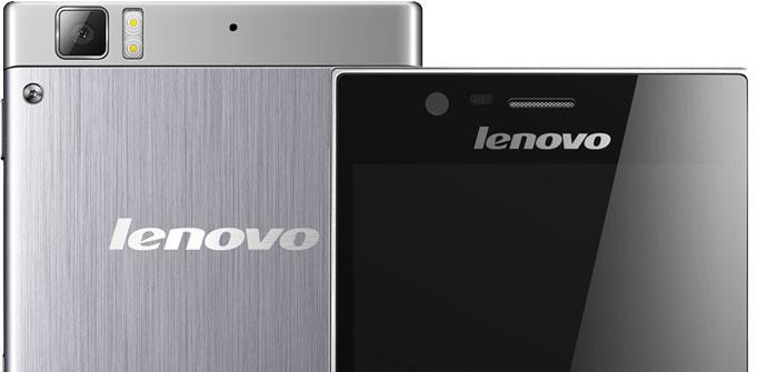 Diseño del Lenovo K900