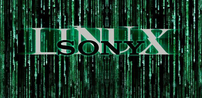 Logo de Linux y SOny